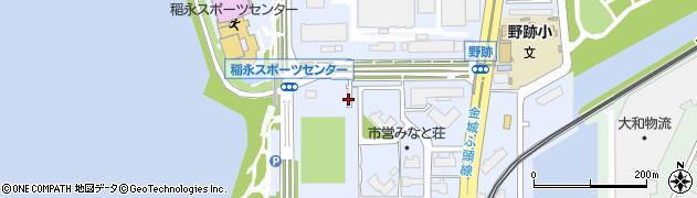 愛知県名古屋市港区野跡周辺の地図
