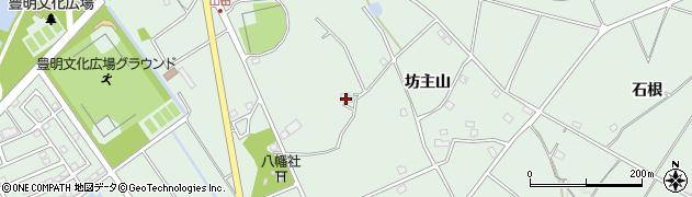 愛知県豊明市沓掛町(坊主山)周辺の地図