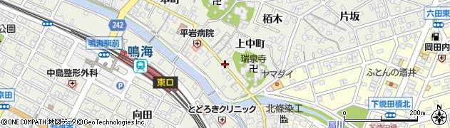 愛知県名古屋市緑区鳴海町(相原町)周辺の地図