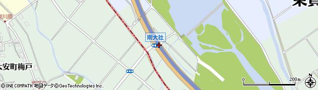 南大社周辺の地図