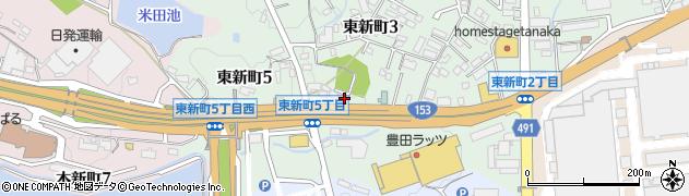 豊月周辺の地図