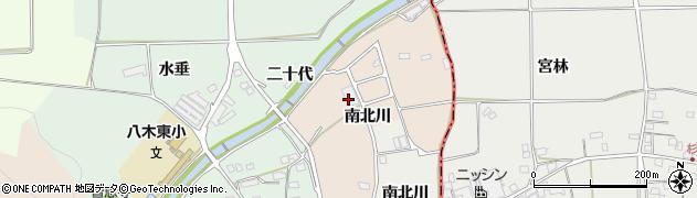 京都府南丹市八木町屋賀(北川)周辺の地図