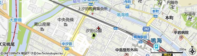 愛知県名古屋市緑区鳴海町(上汐田)周辺の地図