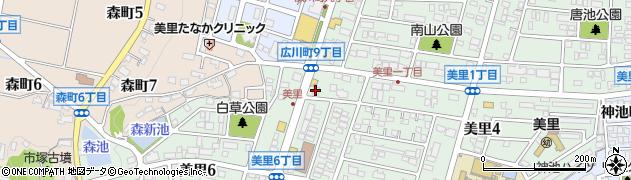 歌志軒 豊田・美里店周辺の地図