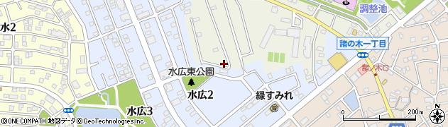 愛知県名古屋市緑区鳴海町(大清水)周辺の地図