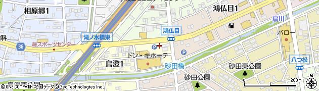 レギオン周辺の地図