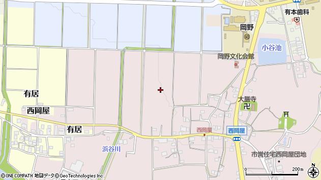〒669-2346 兵庫県丹波篠山市西岡屋の地図