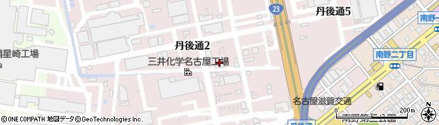 愛知県名古屋市南区丹後通周辺の地図