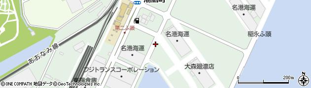 愛知県名古屋市港区潮凪町周辺の地図