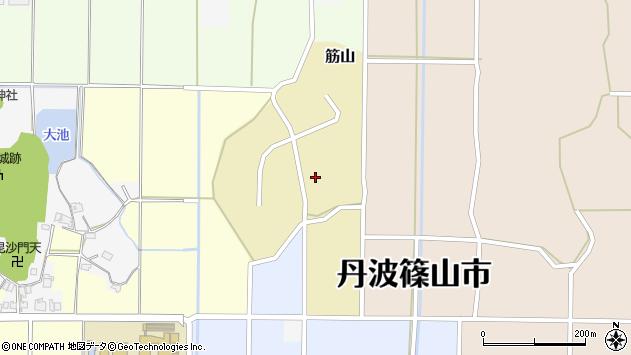 〒669-2315 兵庫県丹波篠山市筋山の地図