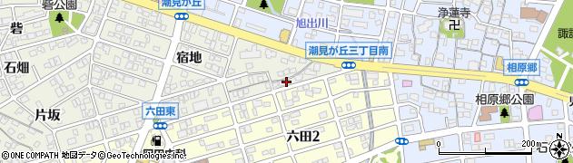愛知県名古屋市緑区鳴海町(早稲屋)周辺の地図