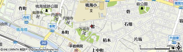 愛知県名古屋市緑区鳴海町(雷)周辺の地図