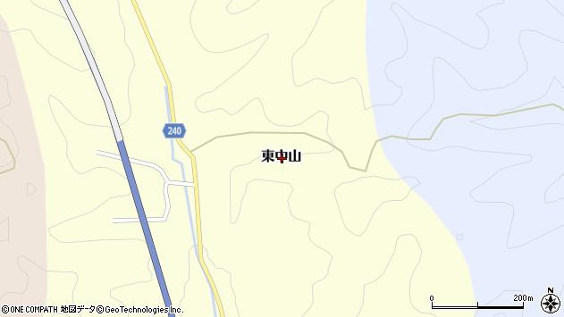 〒679-5318 兵庫県佐用郡佐用町東中山の地図