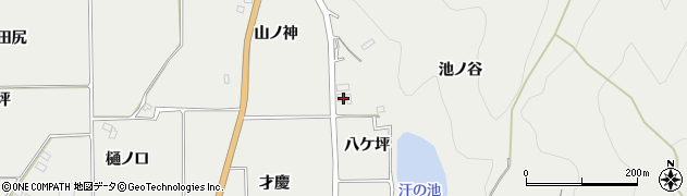 京都府亀岡市旭町(八ケ坪)周辺の地図