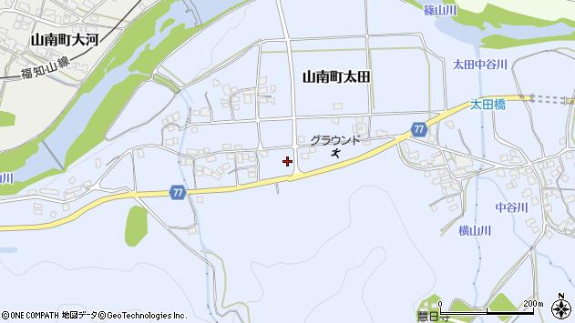 〒669-3113 兵庫県丹波市山南町太田の地図