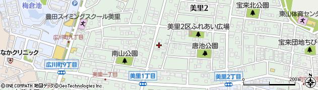 ありんこ周辺の地図