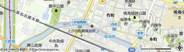 愛知県名古屋市緑区鳴海町(最中堤塘)周辺の地図