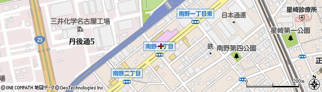 長命うどん 星崎店周辺の地図