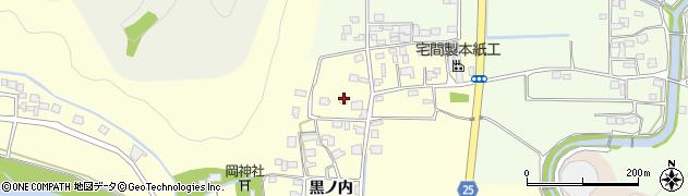 京都府南丹市八木町北広瀬(北原)周辺の地図
