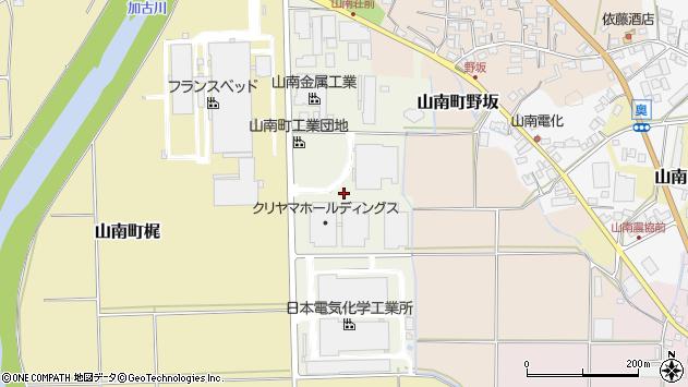 〒669-3148 兵庫県丹波市山南町きらら通の地図