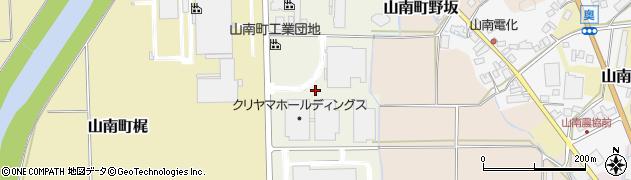 兵庫県丹波市山南町きらら通周辺の地図