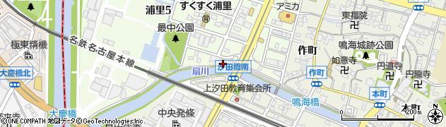 愛知県名古屋市緑区鳴海町(下拾貫目堤塘)周辺の地図