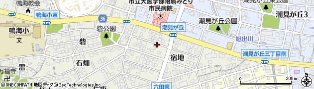 愛知県名古屋市緑区鳴海町(宿地)周辺の地図