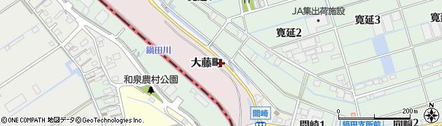 愛知県弥富市間崎町ロノ割周辺の地図