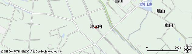 愛知県豊明市沓掛町(池ノ内)周辺の地図