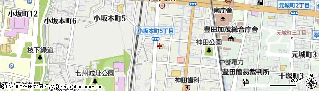 株式会社東郷周辺の地図