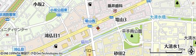 シダックス名古屋鳴海クラブ周辺の地図