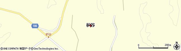 島根県美郷町(邑智郡)枦谷周辺の地図