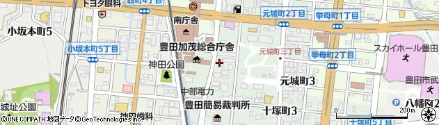 招楽周辺の地図
