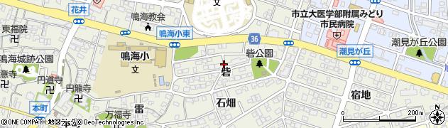 愛知県名古屋市緑区鳴海町(砦)周辺の地図