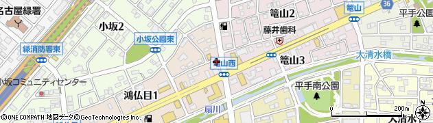 ガールズコレクションバー周辺の地図
