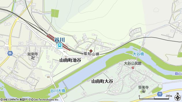 〒669-3125 兵庫県丹波市山南町池谷の地図