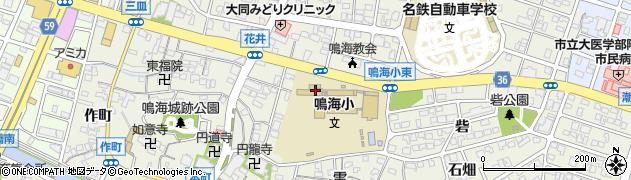 愛知県名古屋市緑区鳴海町(矢切)周辺の地図