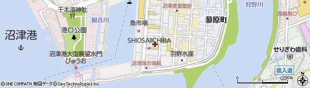 海女小屋 沼津店周辺の地図