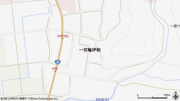 〒671-4134 兵庫県宍粟市一宮町伊和の地図