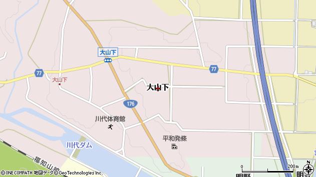 〒669-2823 兵庫県丹波篠山市大山下の地図