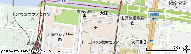 愛知県名古屋市南区滝春町周辺の地図