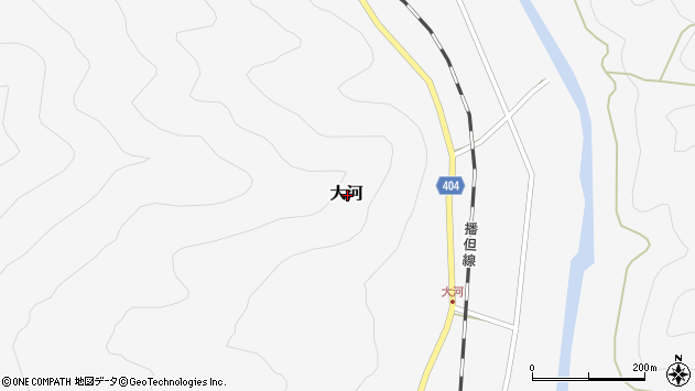 〒679-3111 兵庫県神崎郡神河町大河の地図