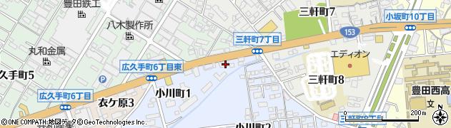 カラオケ喫茶ダイワ周辺の地図