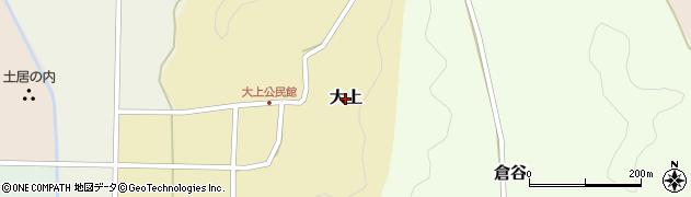 兵庫県丹波篠山市大上周辺の地図