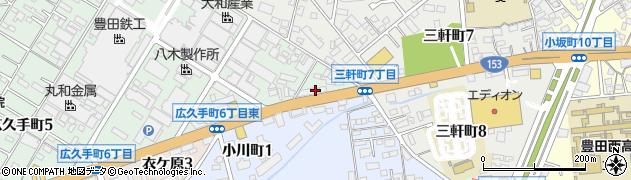 串勝周辺の地図