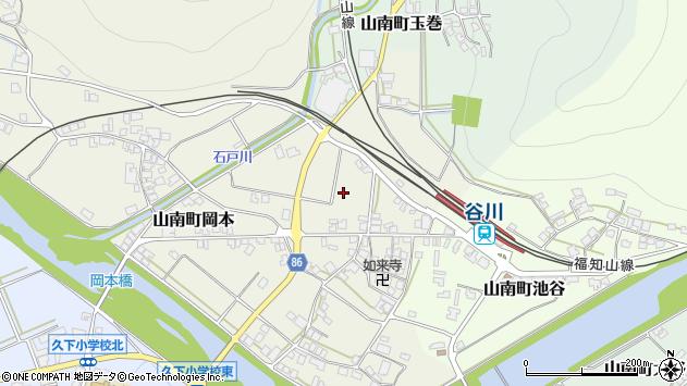 〒669-3126 兵庫県丹波市山南町長野の地図