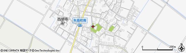 少林寺周辺の地図
