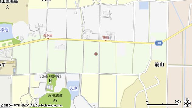 〒669-2317 兵庫県丹波篠山市北沢田の地図
