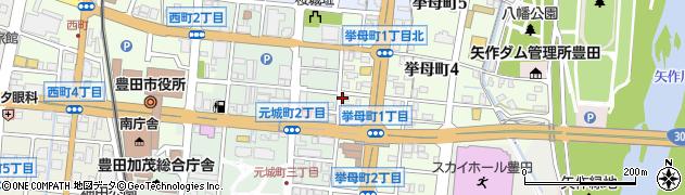 JUNK周辺の地図