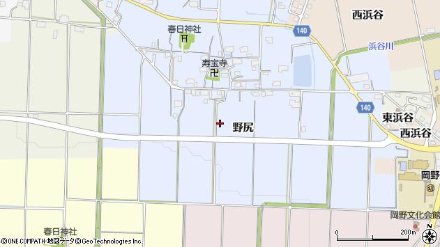 〒669-2353 兵庫県丹波篠山市野尻の地図